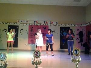Hemphill Elementary Students perform on stage Kyle, TX