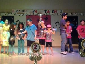 Hemphill Elementary Talent Show awarde winners, Hays CISD
