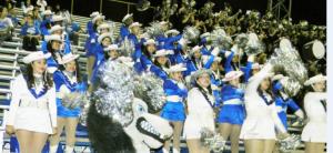 Lehman Cheerleaders Louie T Lobo and Band