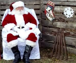 Santa at Kyle United Methodist Church