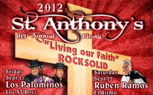 St Anthony 2012 Fiesta