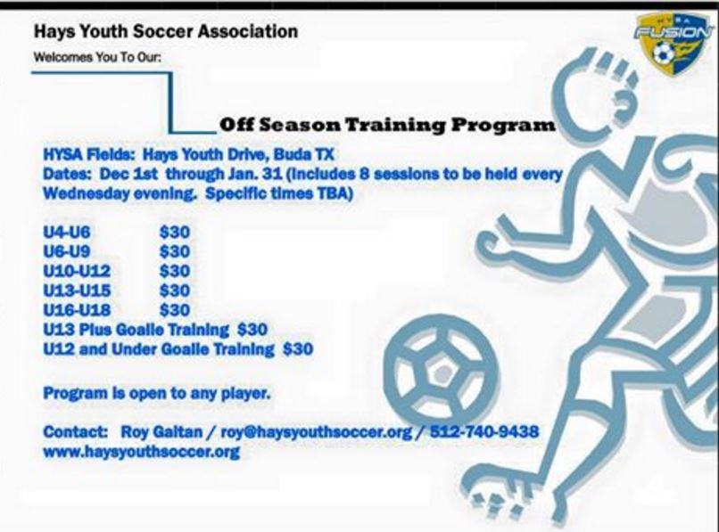 Register for Winter Soccer Training
